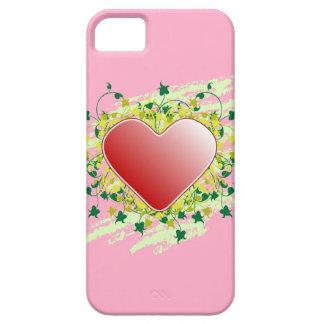 Corazón de la naturaleza iPhone 5 Case-Mate coberturas