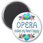 Corazón de la ópera feliz