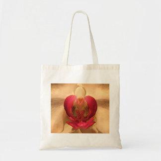 Corazón de la orquídea bolsas