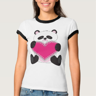 Corazón de la panda playera