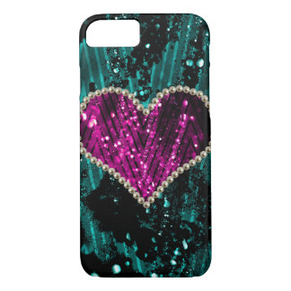 Corazón de la perla funda iPhone 7