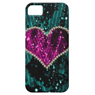 Corazón de la perla funda para iPhone SE/5/5s