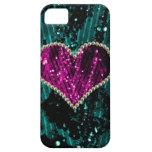 Corazón de la perla iPhone 5 cárcasa
