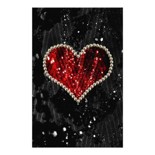 Corazón de la perla  papeleria