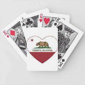 Corazón de la república de Yosemite California Barajas