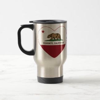 Corazón de la república de Yosemite California Taza Térmica
