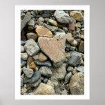 Corazón de la roca impresiones