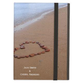 Corazón de la roca y foto de la playa