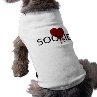 Corazón de la sangre de Sookie Playera Sin Mangas Para Perro