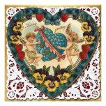 Corazón de la tarjeta del día de San Valentín con