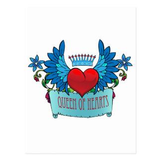 Corazón de la tarjeta del día de San Valentín con Postales