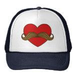Corazón de la tarjeta del día de San Valentín del  Gorras De Camionero