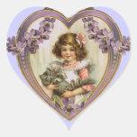 Corazón de la tarjeta del día de San Valentín del Colcomanias Corazon Personalizadas