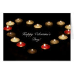 Corazón de la tarjeta del el día de San Valentín d