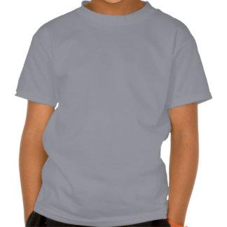 Corazón de la televisión (blanco) camisetas