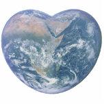 Corazón de la tierra esculturas fotográficas