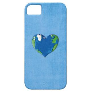 corazón de la tierra funda para iPhone SE/5/5s