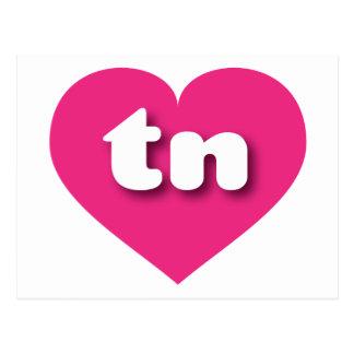 Corazón de las rosas fuertes de Tennessee tn Postal