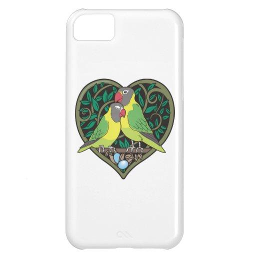 Corazón de las tarjetas del día de San Valentín: A Funda Para iPhone 5C