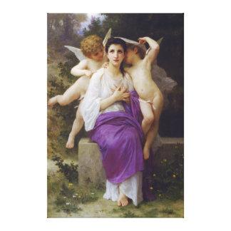 Corazón de Leveil de William-Adolphe Bouguereau Lienzo Envuelto Para Galerías