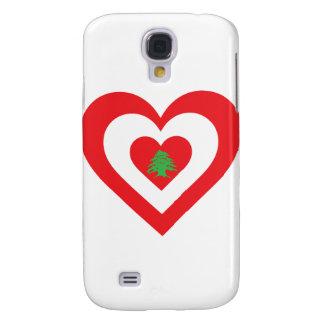 Corazón de Líbano Funda Para Galaxy S4