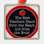 corazón de los profesores ornato