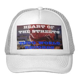 Corazón de los récores mundiales del gamberro del  gorras