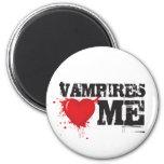 Corazón de los vampiros yo iman para frigorífico