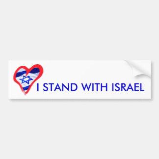 Corazón de Luv Israel Pegatina Para Auto