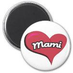 Corazón de Mami Imán Redondo 5 Cm