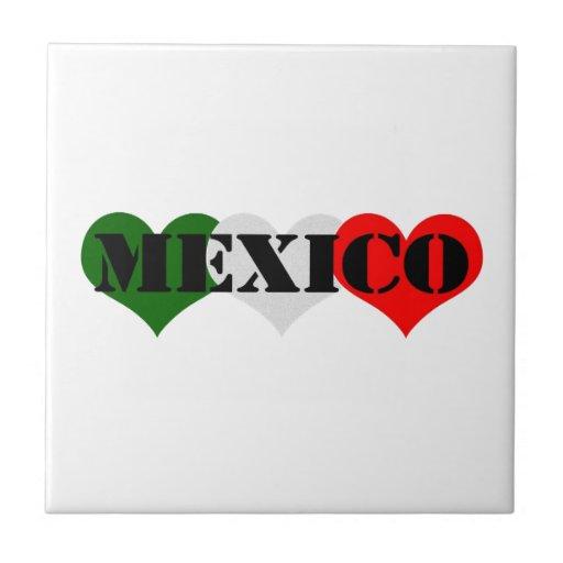 Corazón de México Teja