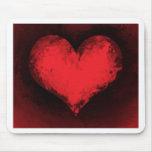 Corazón de MousePad_Valentine Tapetes De Ratones