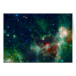 Corazón de NASAs y NASA de la nebulosa del alma Felicitacion