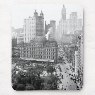Corazón de New York City: 1908 Alfombrilla De Ratón