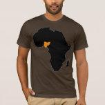 Corazón de Nigeria de África Playera
