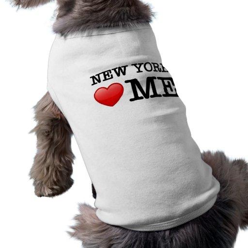 Corazón de Nueva York yo Camisa De Perrito