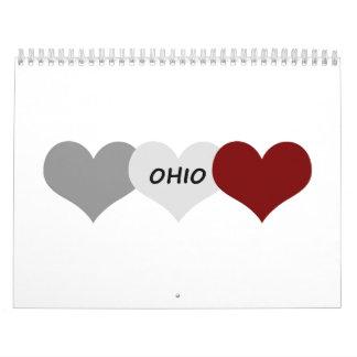 Corazón de Ohio Calendario