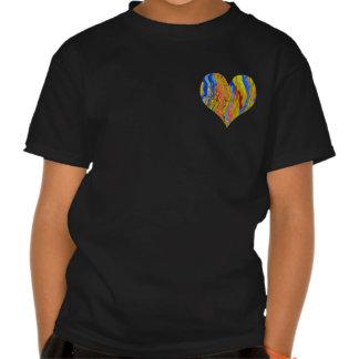Corazón de oro - campeón del póker camisetas