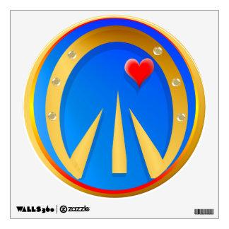 Corazón de oro del enganche n
