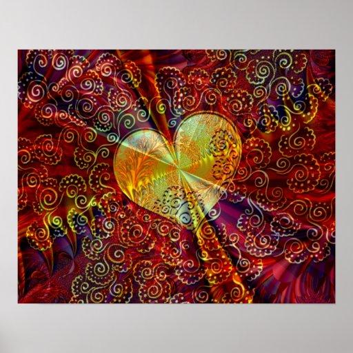 Corazón de oro - poster