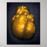 Corazón De Oro - poster 8x10 del corazón de oro