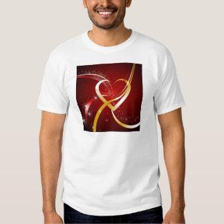 Corazón de oro remeras