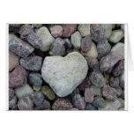 Corazón de piedra tarjetas
