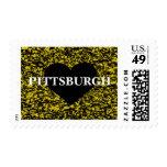 Corazón de Pittsburgh Estampillas