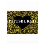 Corazón de Pittsburgh Postal
