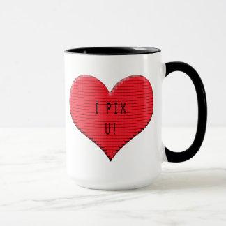 Corazón de Pixelated: ¡I Pix U!