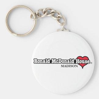 Corazón de Ronald McDonald Llavero Redondo Tipo Pin
