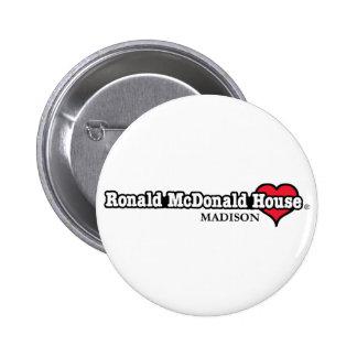 Corazón de Ronald McDonald Pin