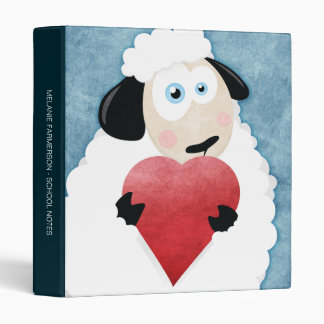 """Corazón de ruborización 1"""" de las ovejas y del amo"""