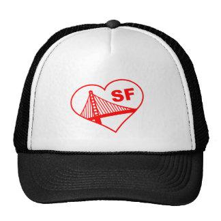 Corazón de San Francisco del amor Gorro
